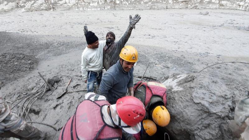 Glacier burst wreaks havoc in Uttarakhand; Over 150 missing, 10 bodies recovered