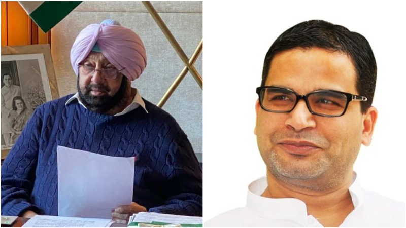 Amarinder Singh appoints Prashant Kishor as 'principal advisor' ahead of 2022 Assembly polls, offers him Cabinet rank