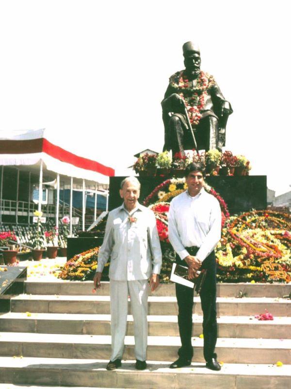 Ratan Tata pays tribute to Tata Group founder Jamsetji Tata on his 182nd anniversary
