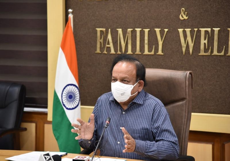 No shortage of Covid vaccines: Harsh Vardhan slams Maharashtra govt's claim