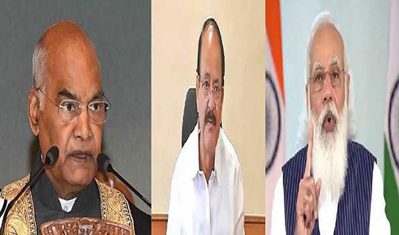 Prez Kovind, VP Naidu, PM Modi greet people on Onam
