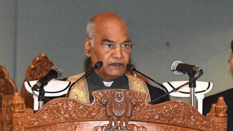 President Kovind attends Kashmir varsity convocation, focuses on climate change