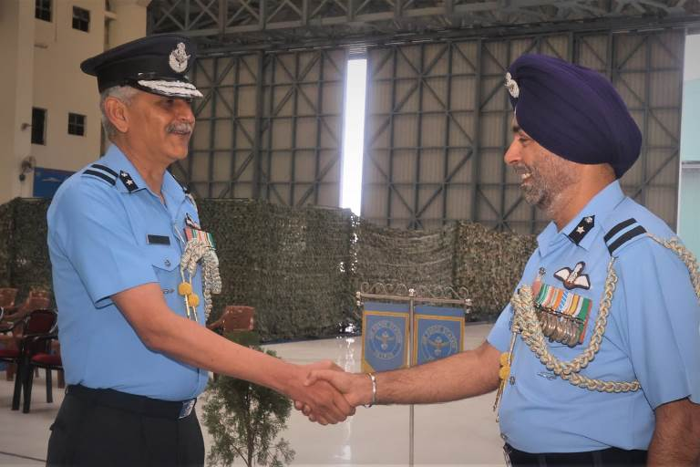 Dharmendra Singh Dangi takes charge Command of Air Force station Tezpur
