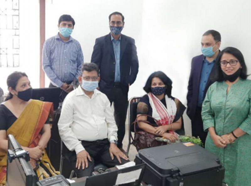 Alankit starts Aadhaar enrolment for unorganiSed workers, tea garden workers in Assam