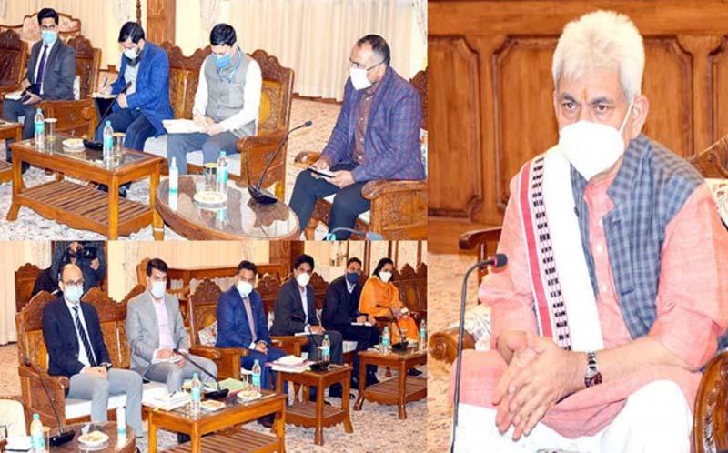 LG Manoj Sinha asks DCs to mitigate people's problems
