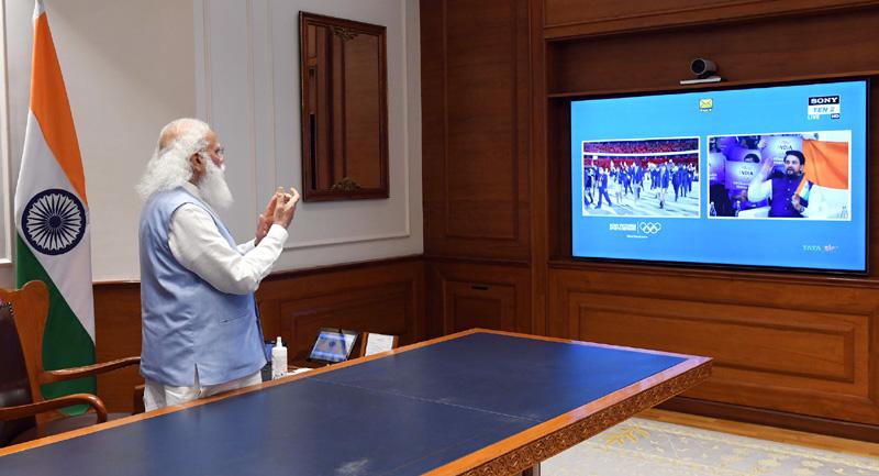 PM Modi links India's Tokyo Olympics success to Amrut Mahotsav