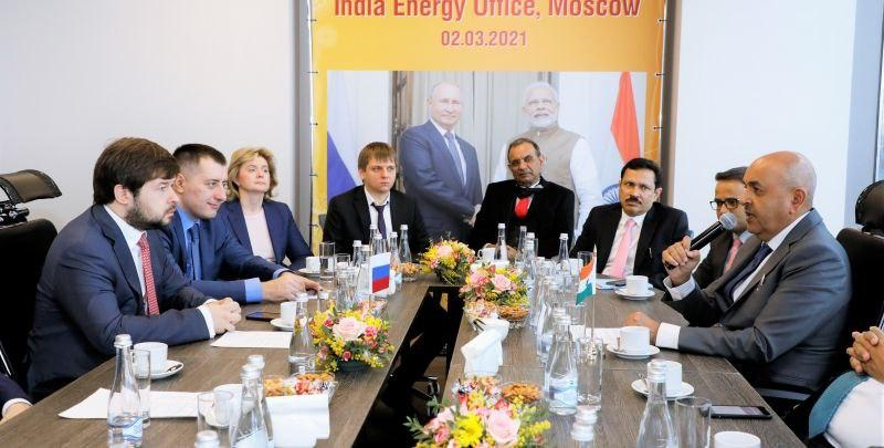 Russia, India agree to create target group for gas