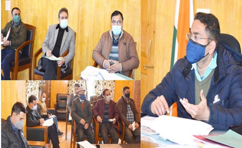 Jammu and Kashmir: Implementation of DEP in Shopian reviewed