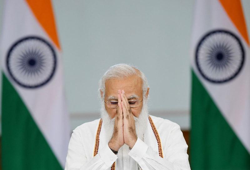 Narendra Modi extends greetings on Guru Purnima