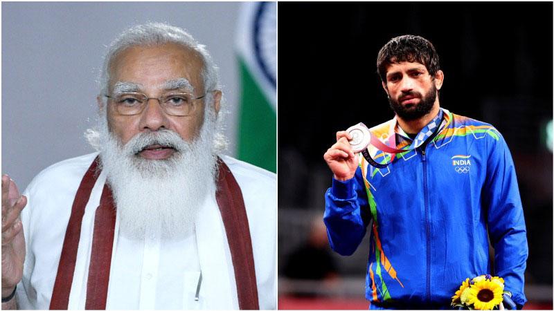 'Remarkable wrestler': PM Modi congratulates Ravi Kumar Dahiya for winning silver at Tokyo Olympics
