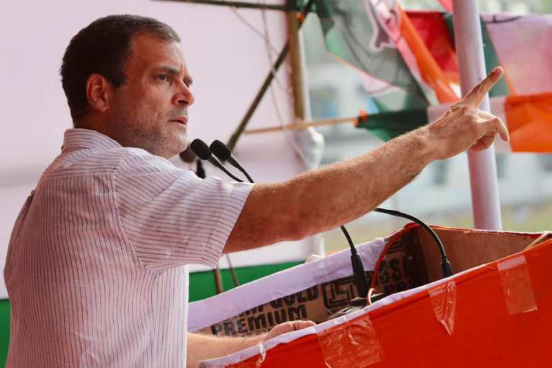 Bengal will burn the day BJP enters state: Rahul Gandhi