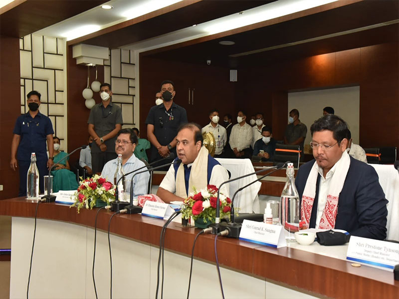 Assam and Meghalaya CMs to hold second round of border talks in Guwahati