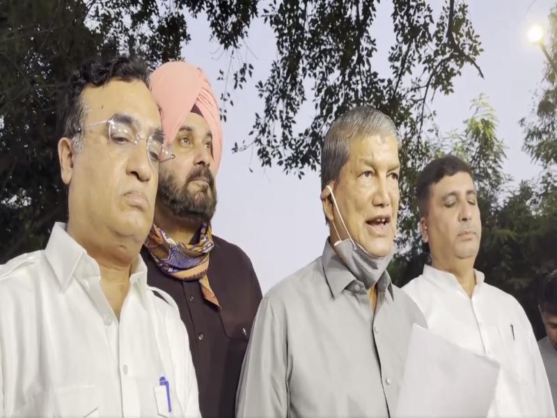 78 Congress MLAs attend meet to ask Sonia Gandhi choose new Punjab CM