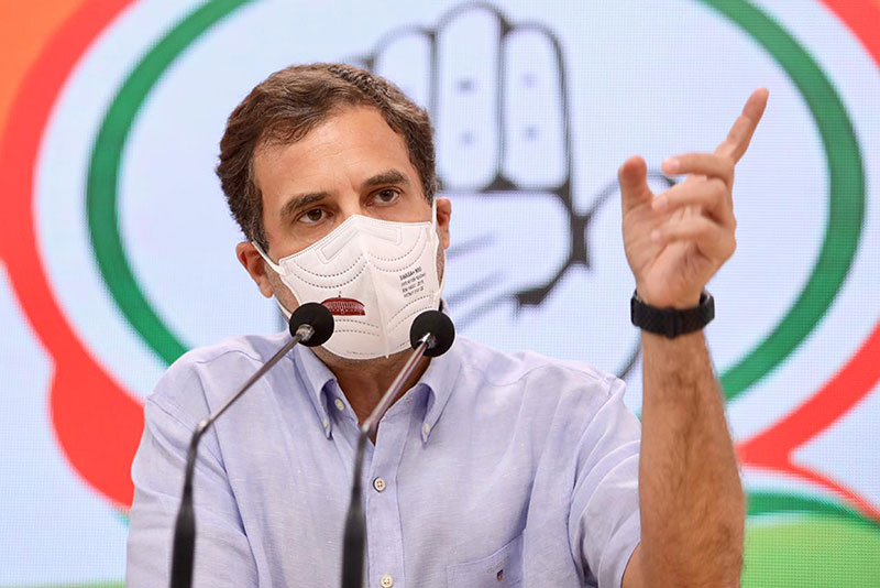 Congress MP Rahul Gandhi condemns eviction drive in Assam's Dholpur