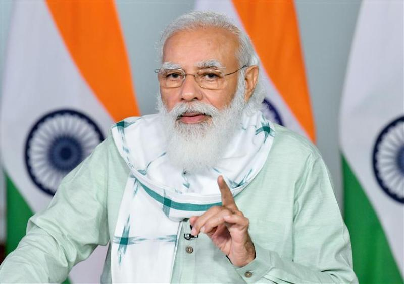 PM Modi to hold meeting with top officials to review Covid-19 situation in county at 8pm
