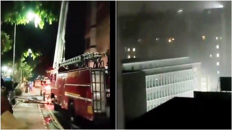 Fire breaks out on ninth floor of Delhi's AIIMS, no injuries reported