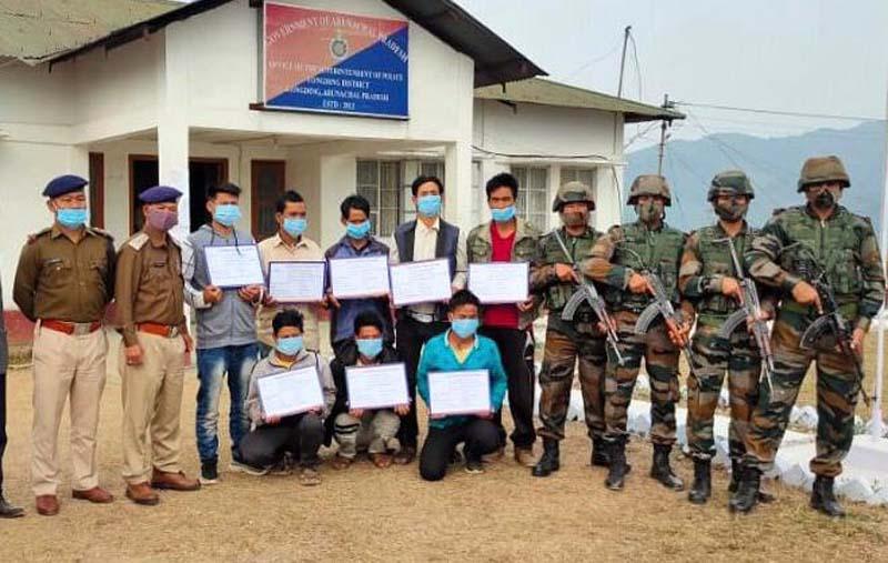 8 hardcore insurgents of NSCN (IM), NSCN (K-YA) surrender in Arunachal Pradesh