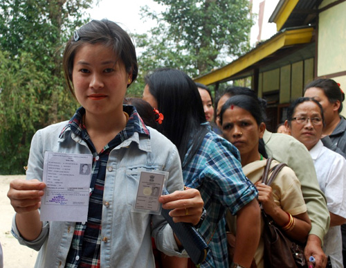 India votes in fourth phase
