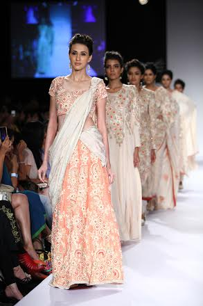 Soumitra Mondal Showcases Collection At Lfw Indiablooms First Portal On Digital News Management