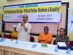 NGO hosts discussion on disabled voters