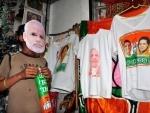 Polls 'merchandise' floods Kolkata markets