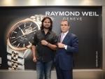 Raymond Weil felicitates fashion designer Rahul Mishra
