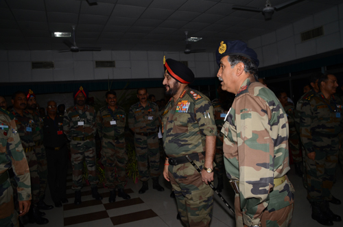 Gen. Bikram Singh visits HQ South Western Command