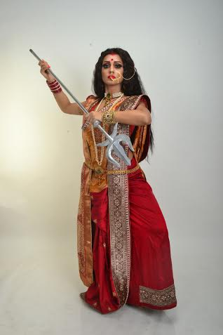Mimi depicts 'The Fface of Durga'