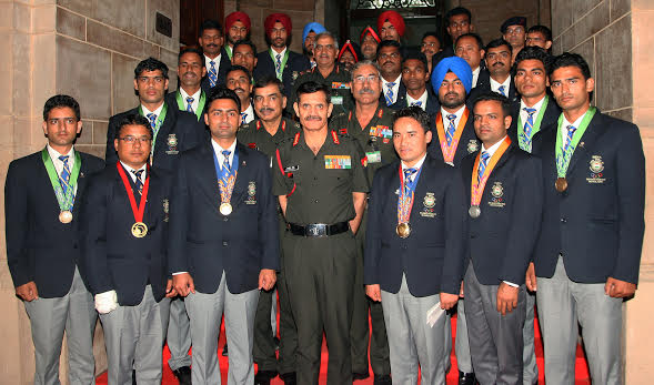 Asian Games Medalists of Indian Army felicitated