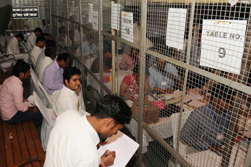 Counting Centre of General Election-2014