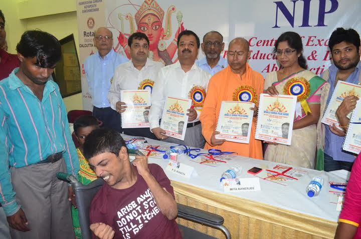 NGO launches Durga Puja guide in braille for blinds