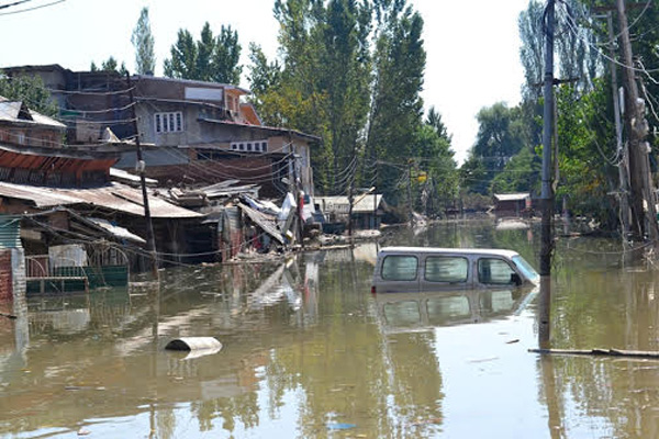 Flood ravages Jammu and Kashmir