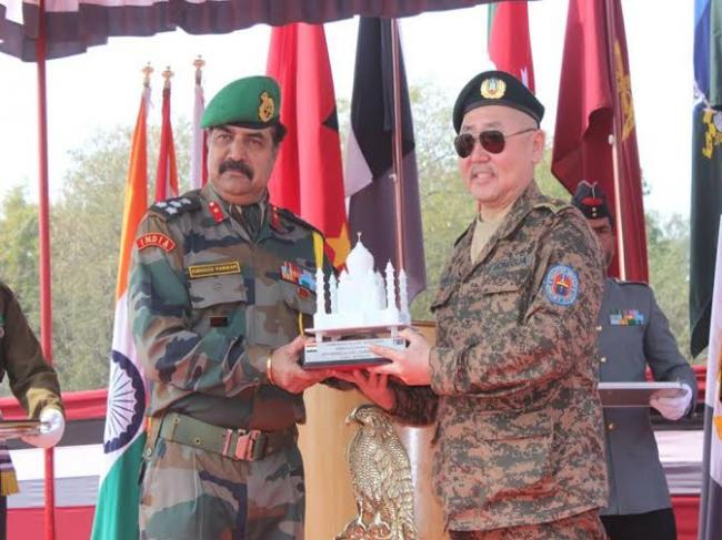 Tenth India-Mongolia joint exercise culminates