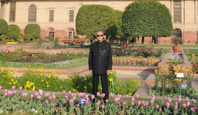 President opens Rashtrapati Bhavan's