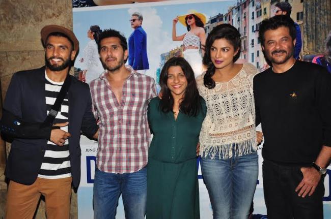 Anil, Priyanka, Ranveer glam up Dil Dhadakne Do gathering