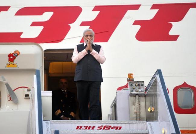 PM Modi returns home after three-nation tour