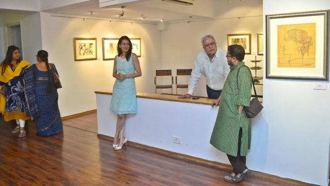Gallery Sanskriti brings together legends for 'Nayika'