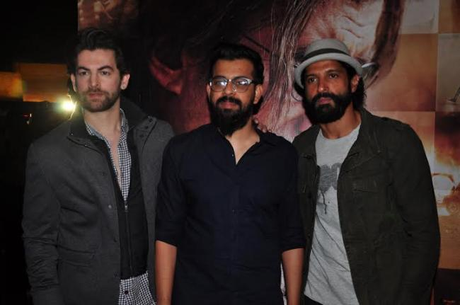 Celebs assemble to witness Wazir trailer launch