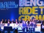 Jaitley, Mamata share stage at Bengal Business Summit