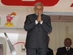 Modi arrives at Bandaranaike International Airport