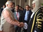 Modi addresses SL Parliament