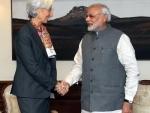 IMF chief meets PM Modi