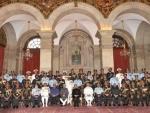 President presents Gallantry Awards