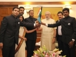 Team of first All India Services Expedition to Mt. Everest calls on PM