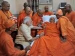 Modi meets Swami Atmasthananda in Kolkata hospital