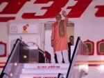 Modi arrives China on three-day visit