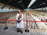 Modi visits museum, temple in Xi'an on arrival in China