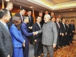 Modi meets the Chinese CEOs