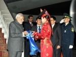 PM Modi reaches Mongolia