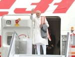 Narendra Modi leaves for his visit to Central Asia and Russia
